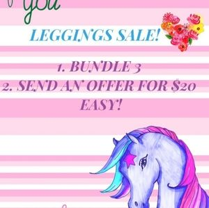3/$20 LULAROE LEGGINGS SALE! All NWOT.
